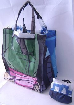Recycled Banner Bags