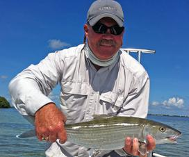 Fly Fishing For Bonefish: Arnolds Flats Fly Does It Again!