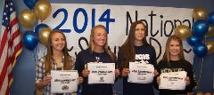 Lady Vikings Soccer Signs Four