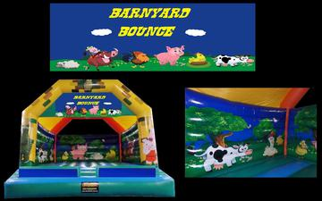 Barnyard Bounce - Jumping Castle