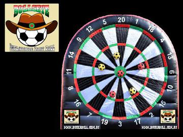 BULLSEYE INFLATABLE DARTS