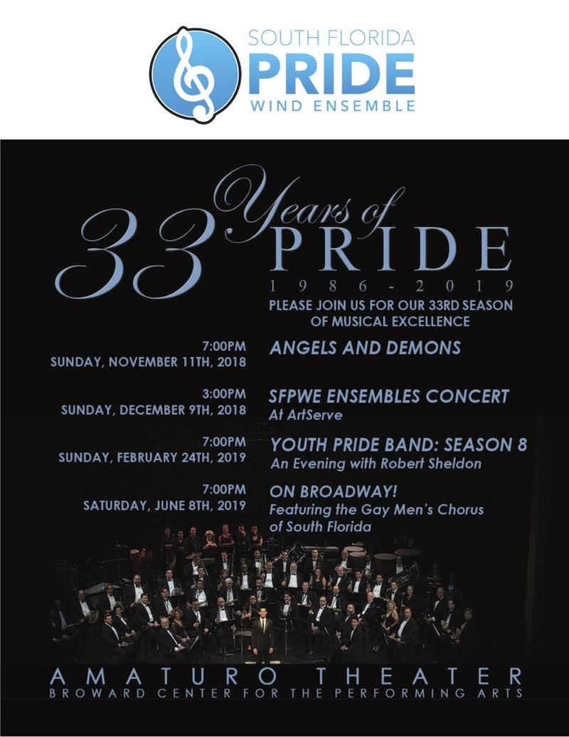 South florida pride wind ensemble home support the south florida publicscrutiny Gallery