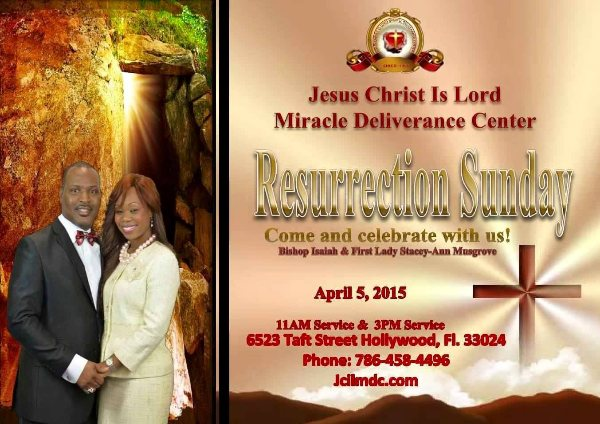 RESURRECTION SUNDAY, 2015