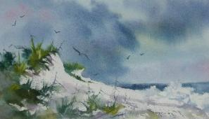 Guest Artist 2012-The late Dr. Joe Robinson, Watercolors