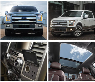 Stivers Ford Lincoln all new 2015 Ford F-150. All new Ford F-150 trucks in Des Moines. Brand new 2015 F-150 Lariat at Stivers Ford Lincoln in Des Moines Iowa.