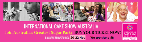 International Cake Show Brisbane 2020 cake decorating australia