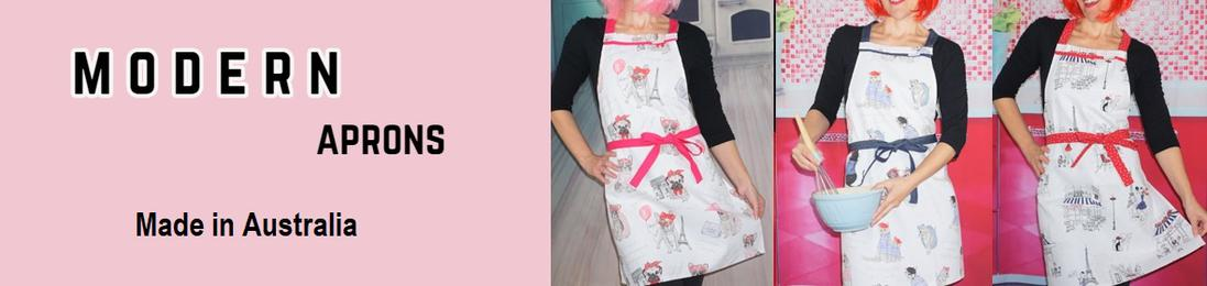 modern aprons perfect as uniforms for chefs florist cafe