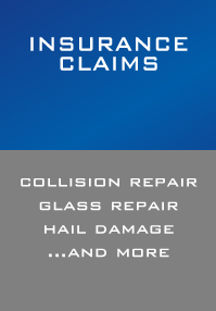 Insurance Claims, Collision Repair, Hail Damage