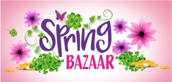 Our annual Spring Bazaar will be held on Saturday May 18th from 8am to 12pm.