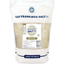 Coarse Grain French Grey Salt - 2 lb Bag Bulk Gourmet Salt