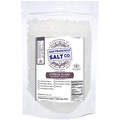 Cyprus Flake Salt - 5 lb Bag