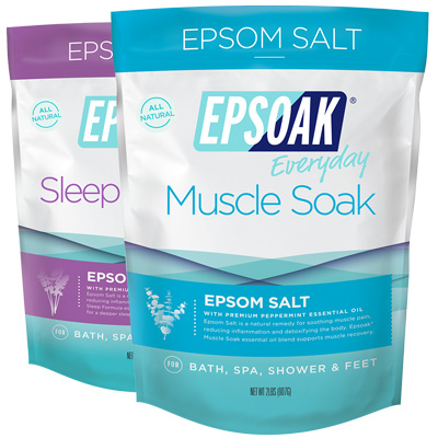 Ultimate Epsoak Epsom Salt Bundle - 2 pack