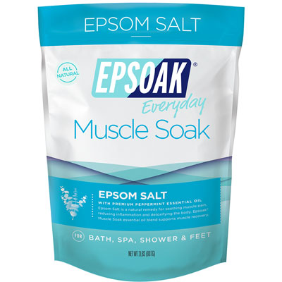 Epsoak Epsom Salt Muscle Soak Pack