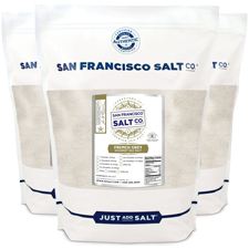 Fine Grain French Grey Salt - 20lb Bulk Bag