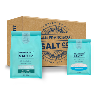 Bath Salt Gift Set For Him