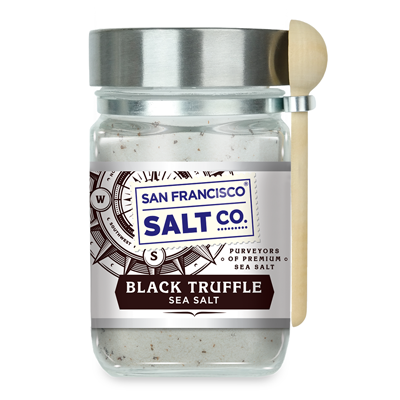 Black Truffle Salt Chef's Jar 8 oz