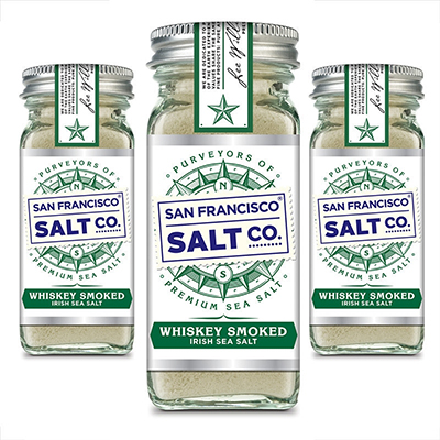 San Francisco Salt Company Introduces Whiskey Smoked Irish Sea Salt