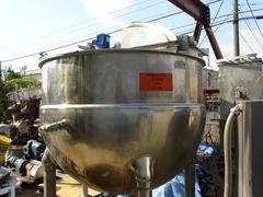Lee 200 Gallon Jacketed Kettle
