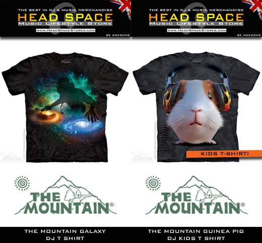 The Mountain DJ and Music T-Shirts - Head Space Stores