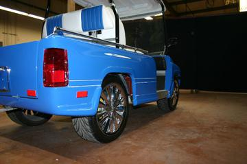 Tail gate not included