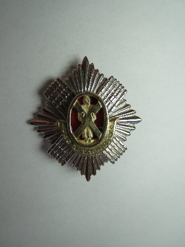 Royal Scots Soldier Brooch