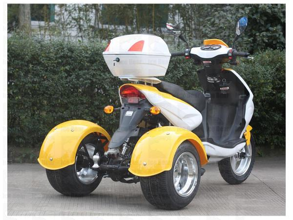 49cc Icebear Mojo Scooter | 3 Wheel Trike Moped - FREE SHIPPING for Sale (  MP 14018 )