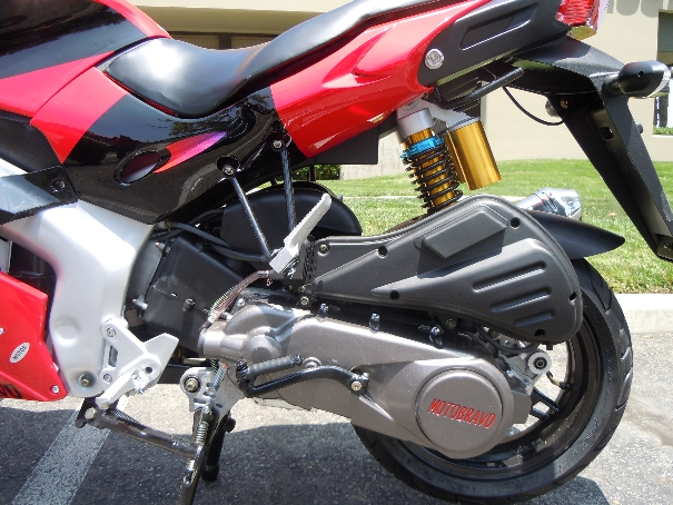 150cc Hornet SR 2 Motorcycle Scooter for Sale - Free Shipping