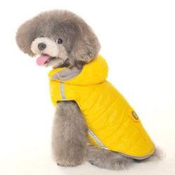 sleeveless water resistant dog parka