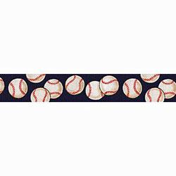 baseball design dog lead