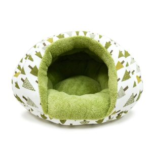 Dogo Burger green trees Pet Bed