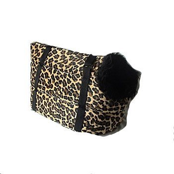 leopard dog sholder bag carrier