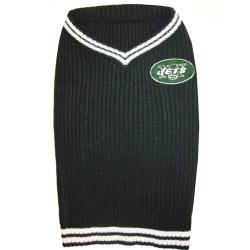 green New York Jets Dog Sweater