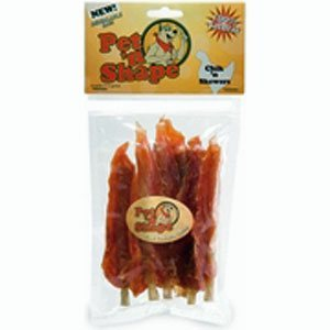 Pet n Shape chicken skewers dog treats