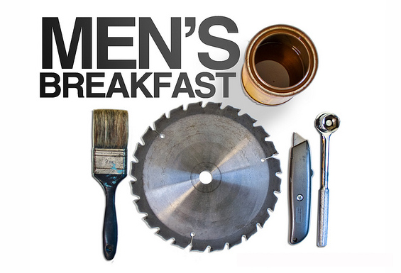Men's Breakfast and Work Day February, 23rd
