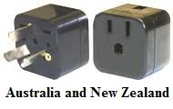 Australia and New Zealand Adapter Plug for Einstein Products