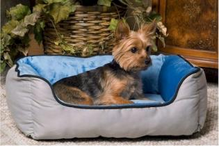 Self Warming Lounger Dog Bed