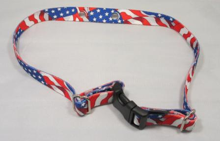 Replacement nylon dog collar strap