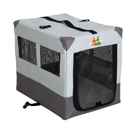 Canine Camper Sportable Soft Dog Crate. Collapsible for easy transport.