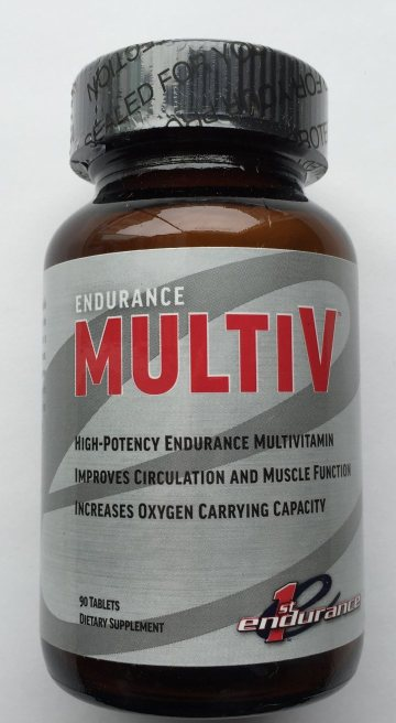 First Endurance Multi-V New and Improved