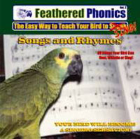Feathered Phonics CD Vol 2 Songs and Rhymes to teach birds