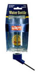Lixit Glass Water Bottle 16 oz. Waterer with Medium Screw-top Tube