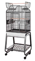 HQ Open top bird cage for small birds