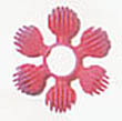 Super Bird Creations Plastic Star Ring Bird Toy Part