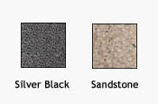 Aviary Colors - Silver Black and Sandstone