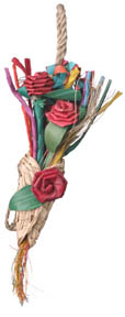 Planet Pleasures Birdie Bouquet bird toy