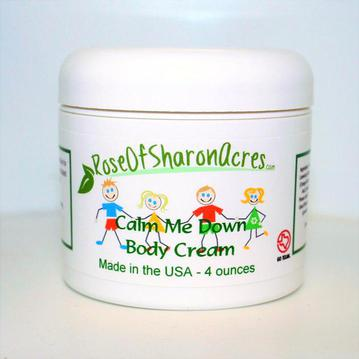 Children's Body Cream - Calming Blend