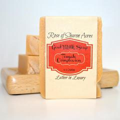Tomato Goat milk soap for oily skin