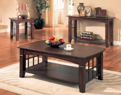 Cherry Coffee Table Set - Coffee Table Sets - Cherry Coffee Tables - Cherry End Tables - Cherry Sofa Tables - Discount Online Furniture