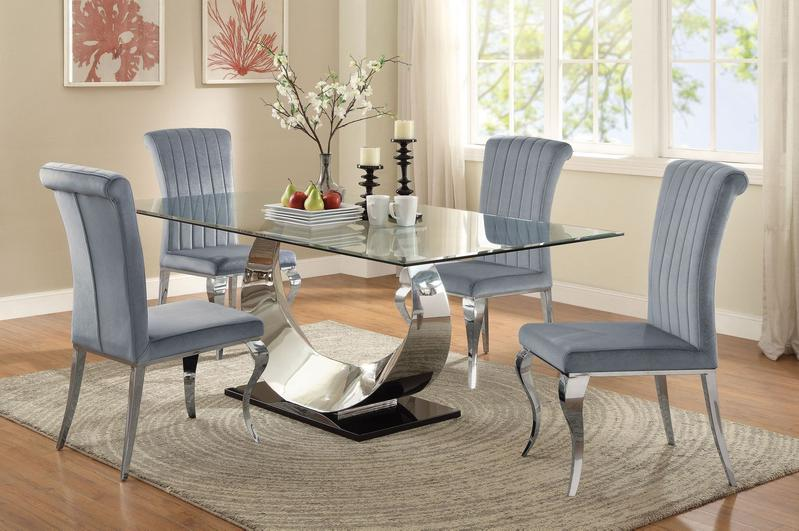 Manessier Contemporary Dining Set|Discount Dining Room Table Sets