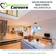 SALES ASSOCIATE - NEW HOMES - HELENSVALE